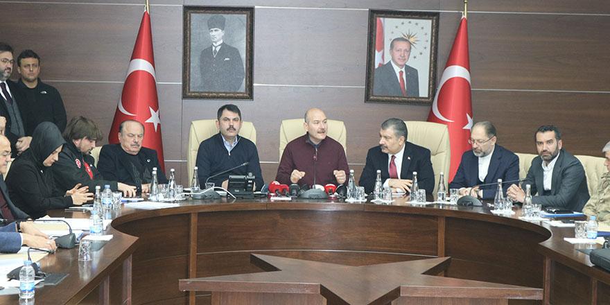"""Bakan Soylu: """"Toplam 35 vatandaşımız hayatını kaybetti"""""""