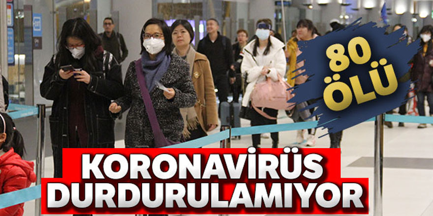 Çin'de korona virüsü yayılıyor
