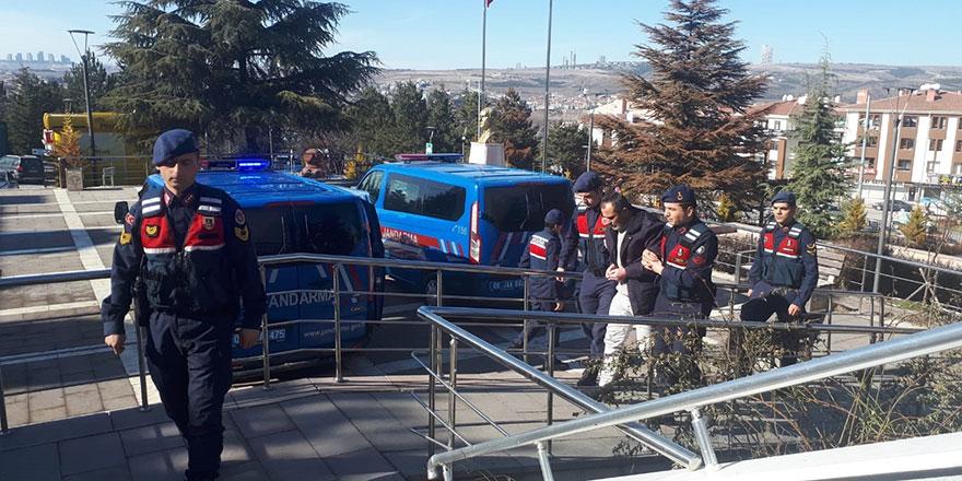 Kaçak kazı yapılan 6 kişi yakalandı