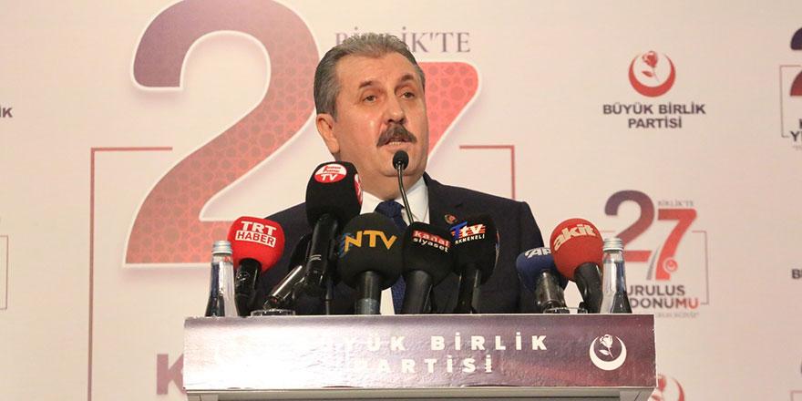 Büyük Birlik Partisi 27 yaşında