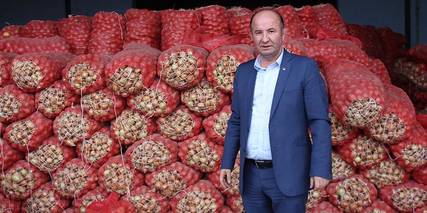Soğanlar depolarda çöp olmayacak