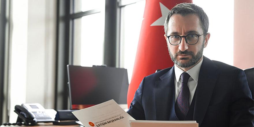 İletişim Başkanı Altun'dan FETÖ ile mücadele paylaşımı