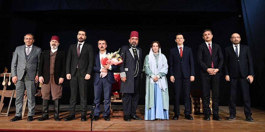 2.Abdülhamid'in hayatı Mamak'ta sahnelendi