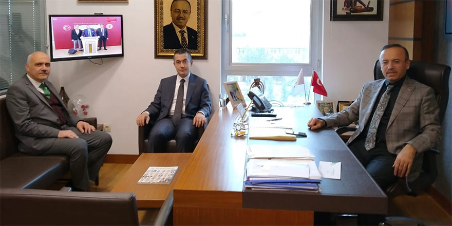 Kaymakam Aksoy ve Başkan Acar'dan TBMM ziyareti