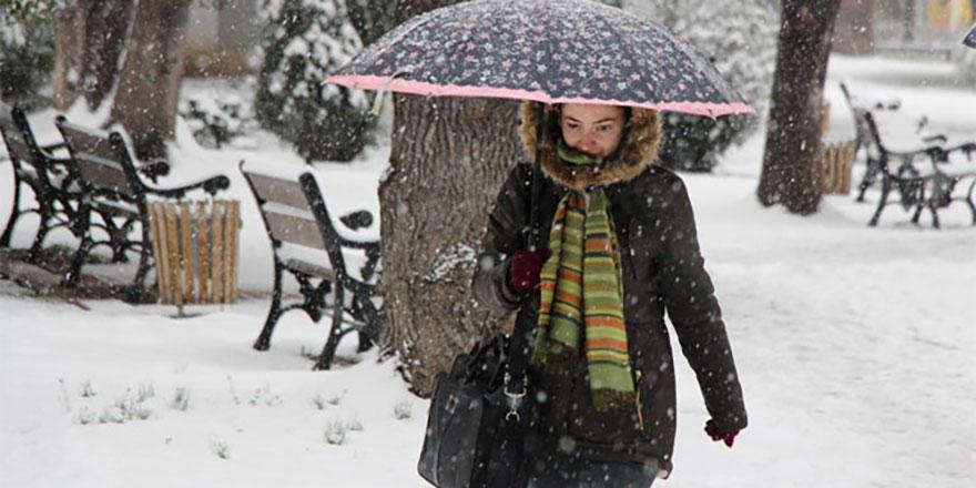 Yoğun ve kuvvetli kar geliyor