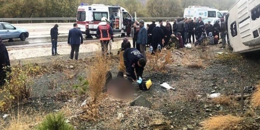 Emniyet'ten ölümlü kaza raporu