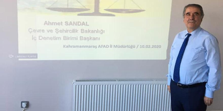 Sandal'dan vatandaş odaklı yönetim semineri