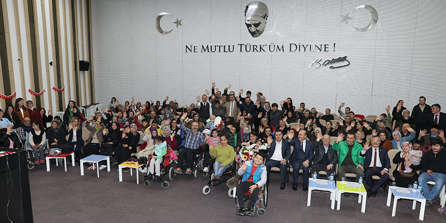 Engelli ailelere motivasyon semineri