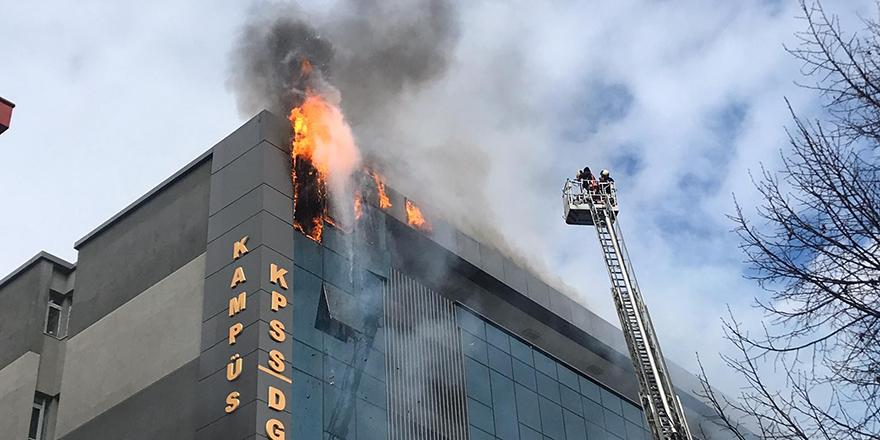 Tarım Kredi Kooperatifi Teftiş Kurulu'nda yangın