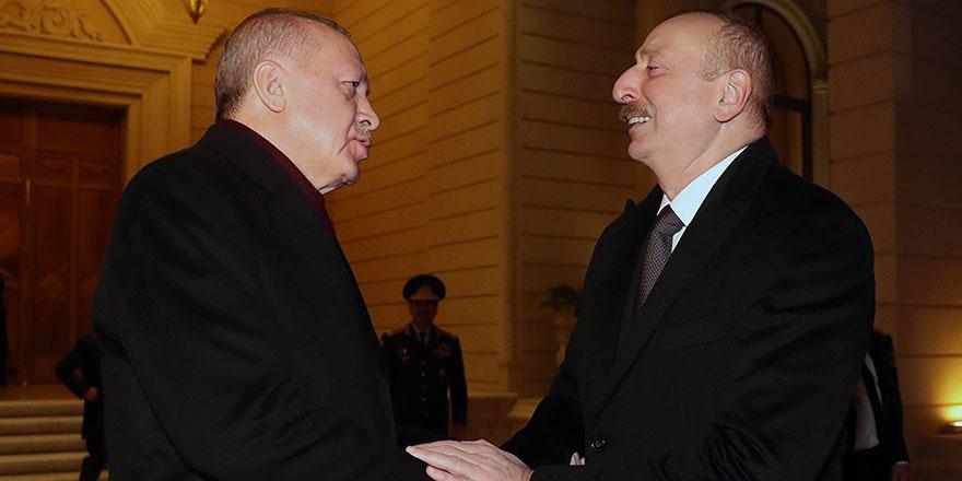 Cumhurbaşkanı Erdoğan'dan önemli Azerbaycan açıklaması