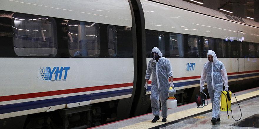 Trenler 'korona virüs'e karşı hazır