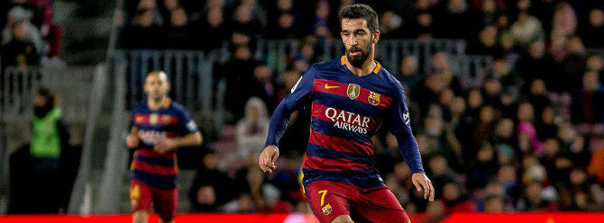 Barcelona taraftarları Arda Turan'a saldırdı!