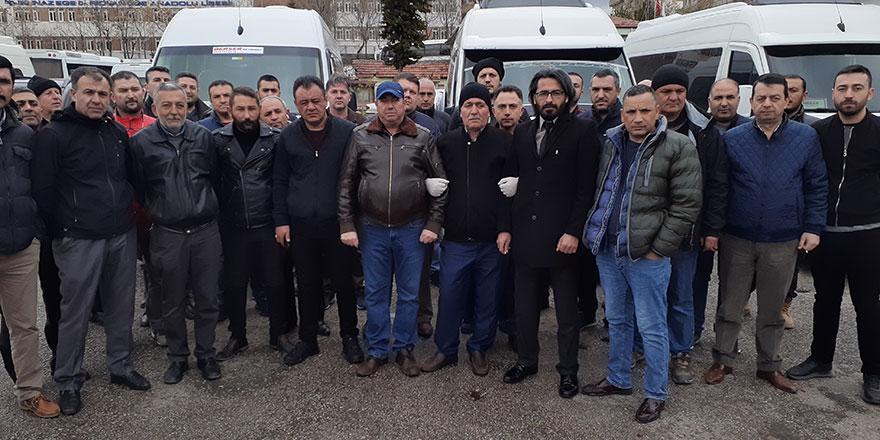 Ankaralı servis şoförlerinden yardım çağrısı