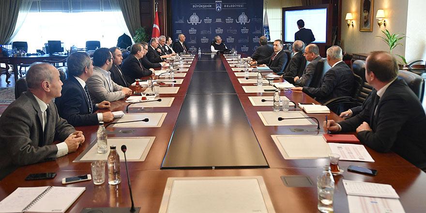Ankara Büyükşehir Kriz Yönetim Merkezi kurdu
