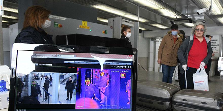 AŞTİ'ye termal kamera yerleştirildi