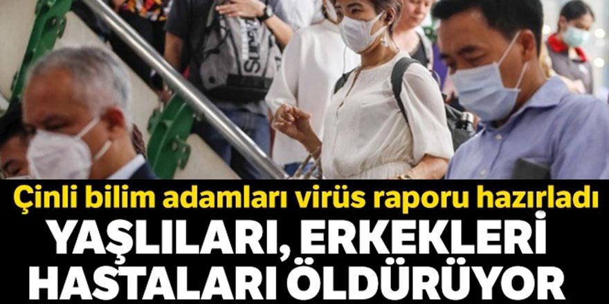 Çinli bilim adamları Korona virüs raporu hazırladı