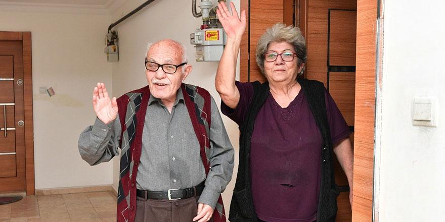 Mamak'ta yaşlılara büyük hizmet