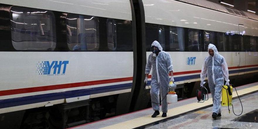 Başkentray ve Marmaray hariç tren seferleri iptal