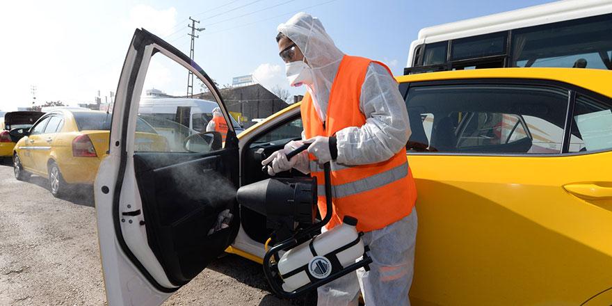 Ankara'ya dezenfekte istasyonu kuruldu