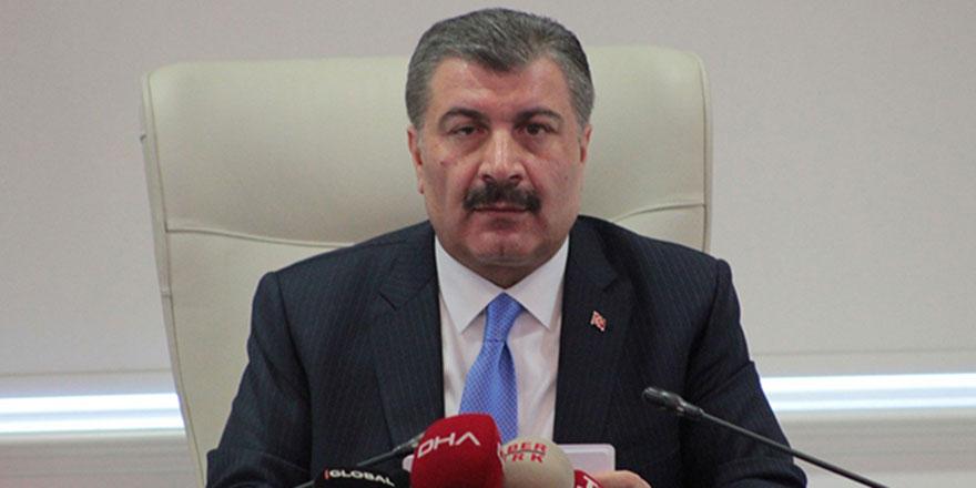 Bakan Koca Ankara'da 7 ölü, 712 vaka açıkladı