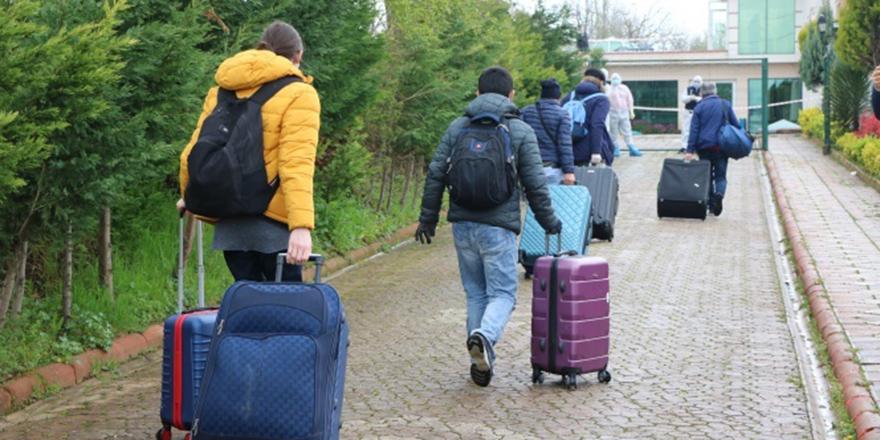 Ukrayna'dan gelen vatandaşlar karantinaya alındı