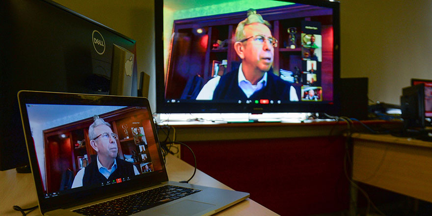 Kent Konseyi video konferans ile toplandı