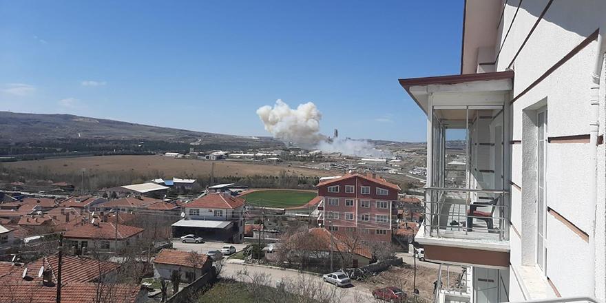 Elmadağ Roketsan'da patlama: 3 hafif yaralı