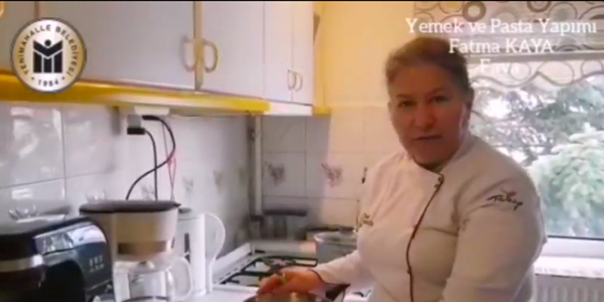 YENİMEK'li aşçı adayları eğitime evde devam ediyor
