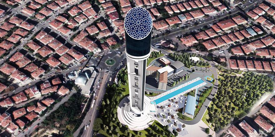 Cumhuriyet Kulesi'nde son viraj