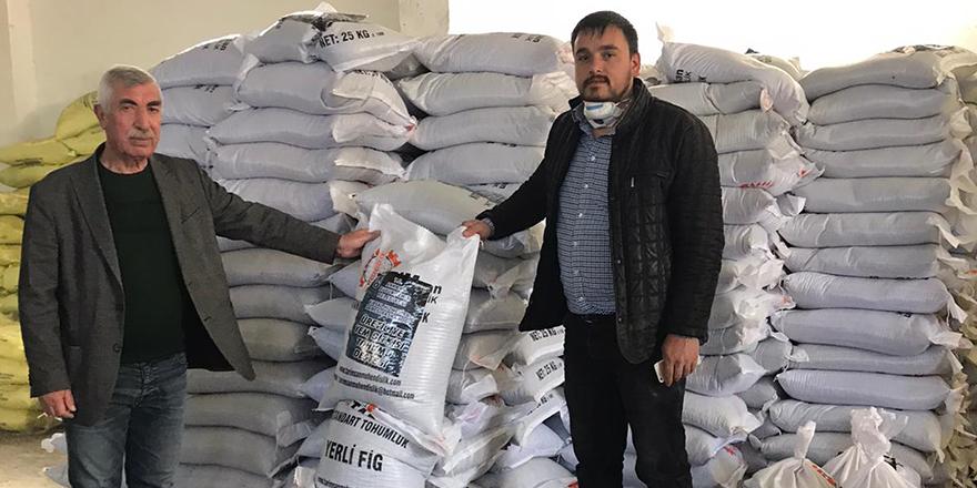 Ankaralı çiftçiye tohum desteği