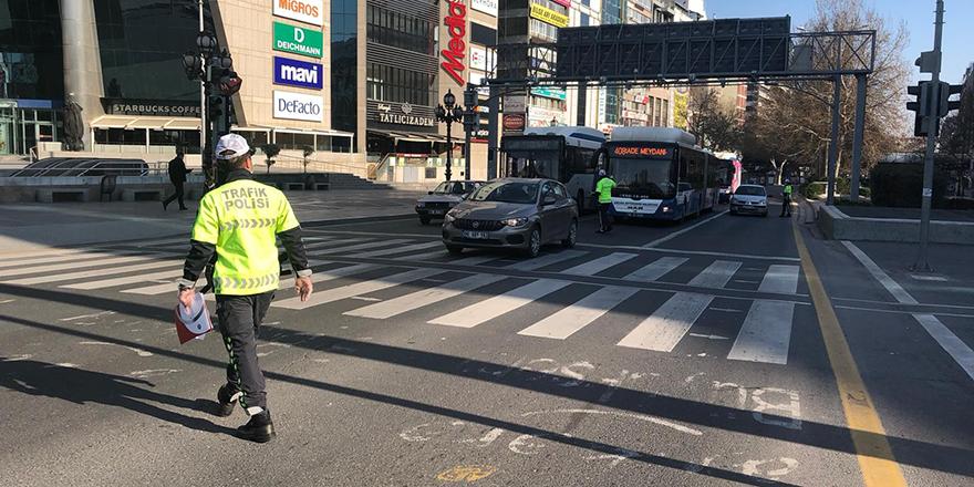 Başkent'te sürücülere sıkı tedbir