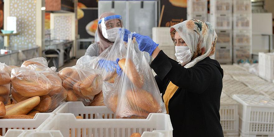 Halk Ekmek'ten kesintisiz üretim