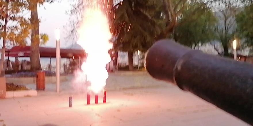 Ramazan topunun yerini ses bombası aldı