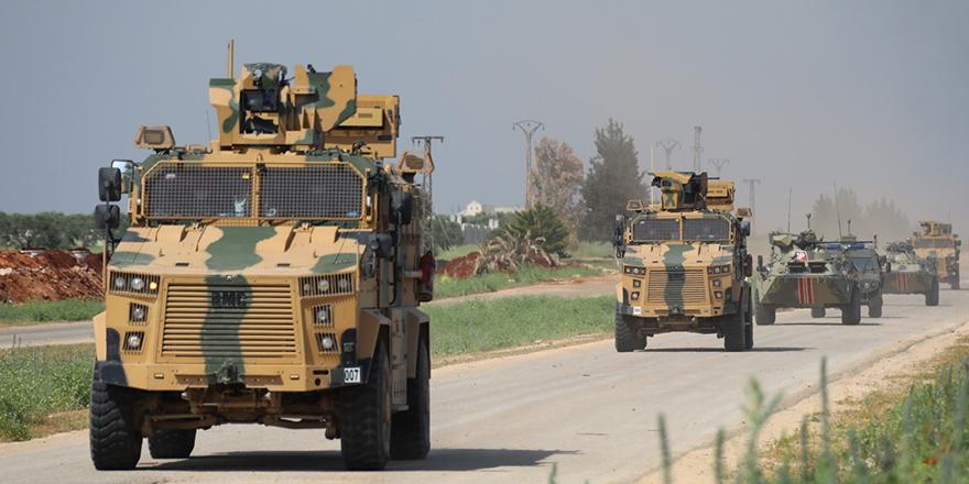 İdlib'de 7'nci Türk-Rus devriyesi yapıldı