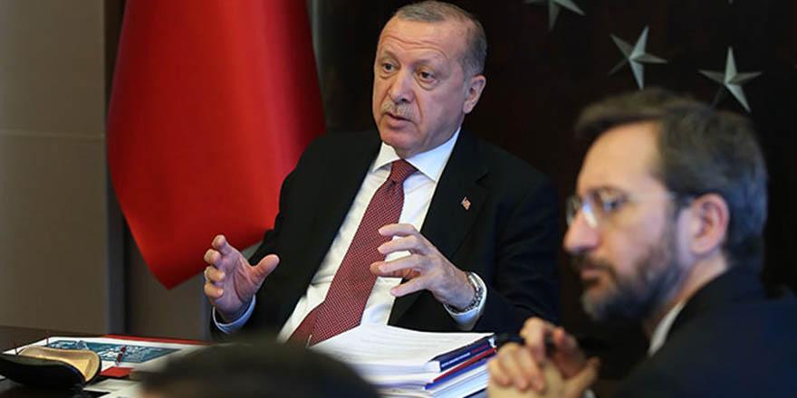 Cumhurbaşkanı Erdoğan Covid-19 hastaları ile görüştü