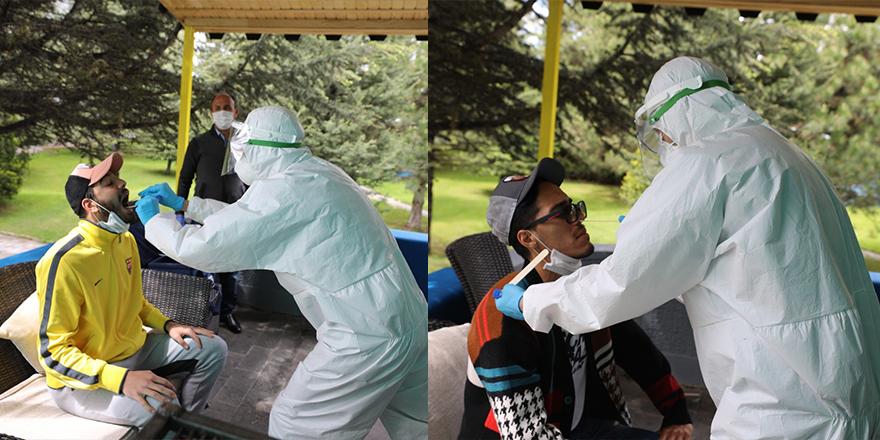 MKE Ankaragücü oyuncularına korona virüs testi yapıldı