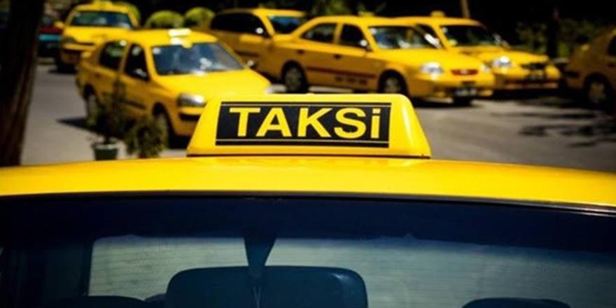 Taksilerin plaka kısıtlaması sonlandı