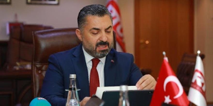 RTÜK Başkanı Şahin'den CHP'li Altay'a cevap