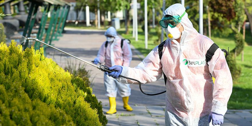 Ankara'da sinek ve haşerelere karşı ilaçlama