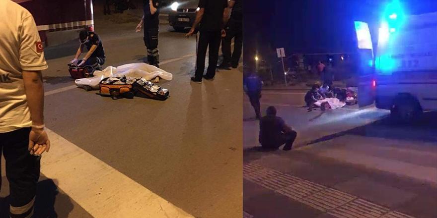 Beypazarı'nda feci kaza: 1 ölü