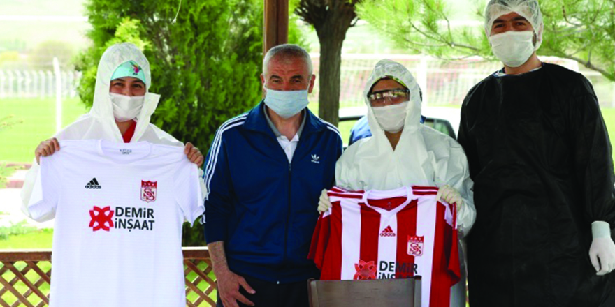 Sivasspor'da korona virüs testi