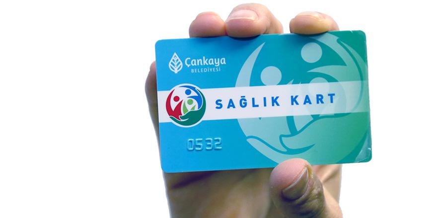 Çankaya'dan sağlık kart hizmeti