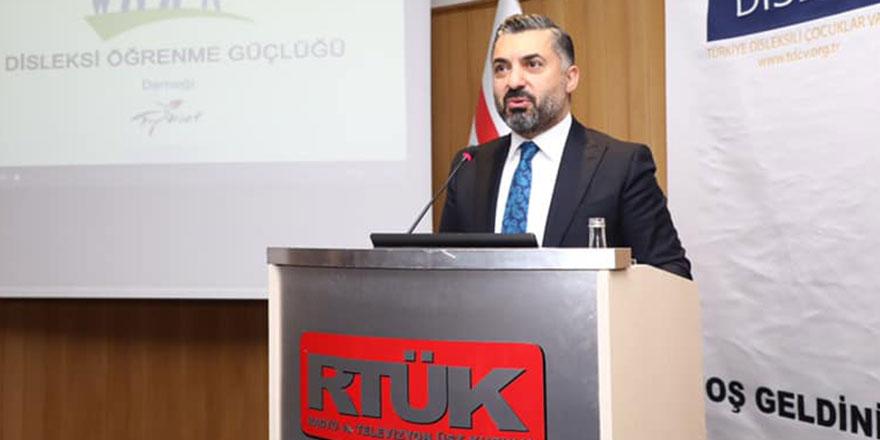 RTÜK Başkanı Şahin: Sevda Noyan'ın söylemleri kabul edilemez
