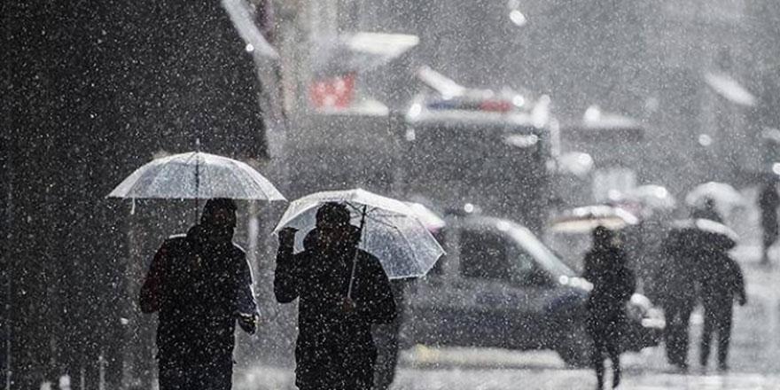 Meteoroloji'den sağanak yağış ve şiddetli rüzgar uyarısı