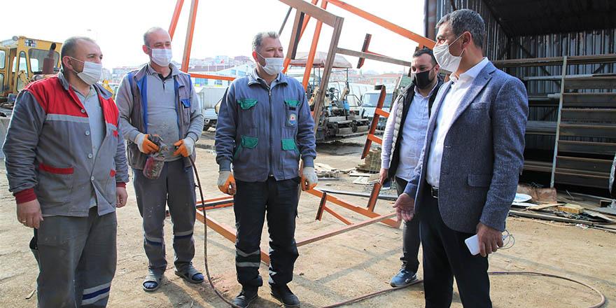Başkan Şimşek'ten belediye çalışanlarına bayram müjdesi