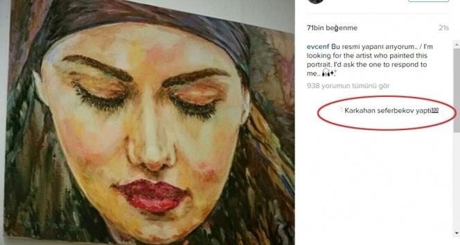 Fahriye Evcen portresini yapan ressamın peşine düştü