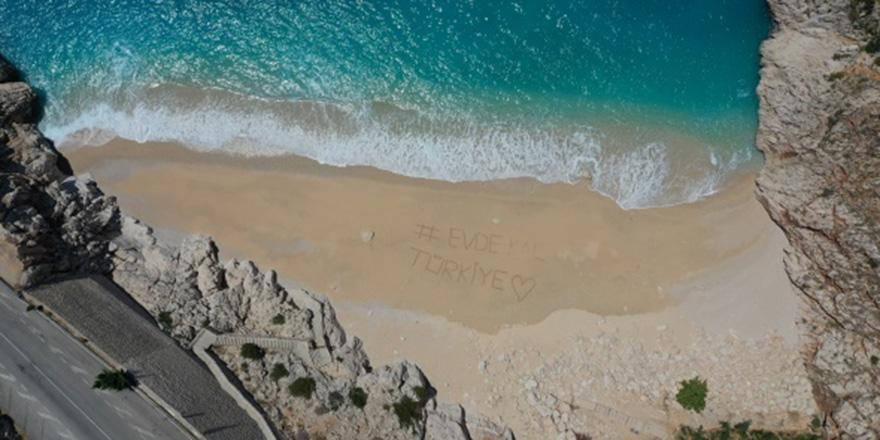 Dünyaca ünlü plajlar kimsesiz kaldı