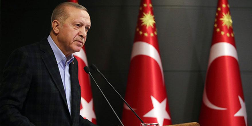 Cumhurbaşkanı Erdoğan'dan çok sert Filistin mesajı