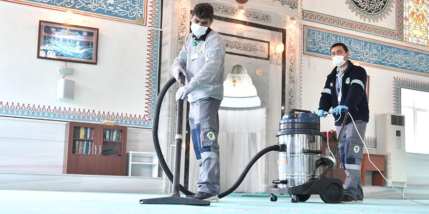 Mamak'ta camiler 29 Mayıs'a hazırlanıyor