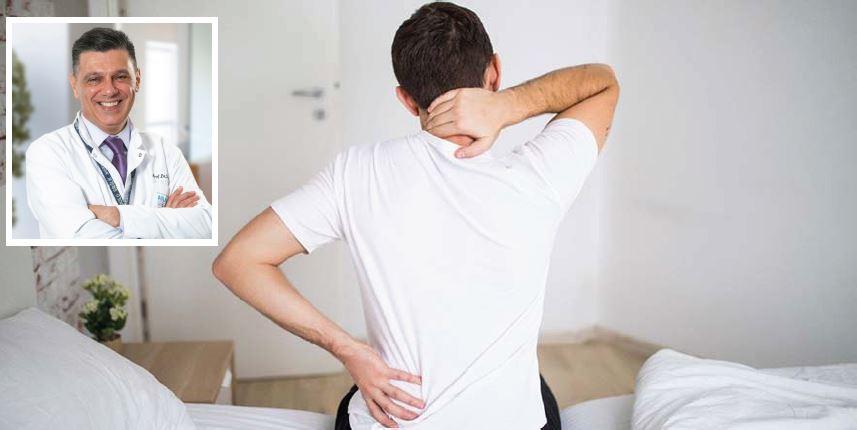 Bel ve sırt ağrılarına dikkat